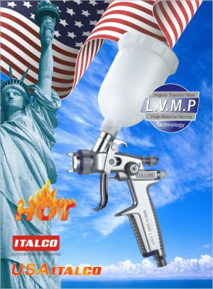 MINI H-3000 L.V.M.P spray gun